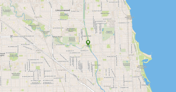 Nb Chicago River At Albany Avenue At Chicago Flow Report USGS