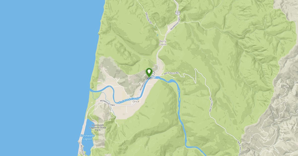 Orick California Map.Redwood C A Orick Ca Flow Report California Usgs 11482500